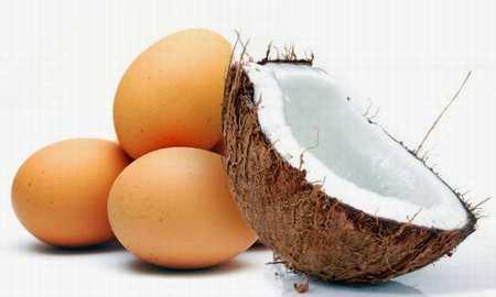coco y huevo