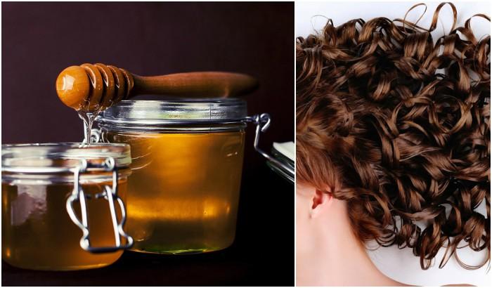 miel y pelo