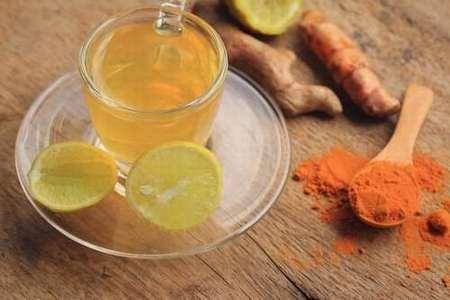 cúrcuma y limón